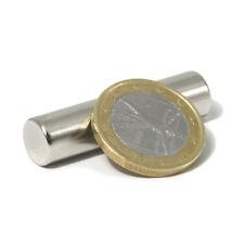 Super Magnete Cilindro al Neodimio dimens. 10 x 40 mm. Potenza 4,3 Kg. S-10-40-N
