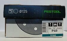 Festool Sanding Pad. Cristal. P40. 494032