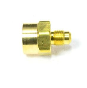 Female 3/8 Flare to Male 1/4 Flare Sae 45 Propane Natural Gas Reducer Adapter Rv