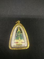 Amulet Thai Emerald Buddha Phra Kaew Morakot Statue Jewelry