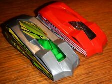 Lot of 2 1994 HOT WHEELS-Silver 1/64 Diecast Custom Car Stinger & Techno