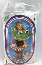 Vintage Intex Animal Split Ring Inflatable Swimming Pool Float Frog BRAND NEW!