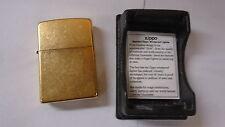 Zippo lighter 254B polish brass 5 barrel