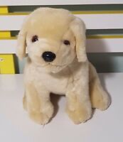 KLEENEX PROMOTIONAL LABRADOR PUPPY PLUSH TOY! KIDS SOFT TOY ABOUT 24CM SEATED!