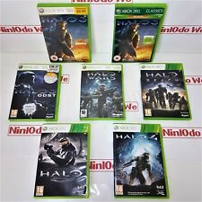 HALO game series (Xbox 360) Multi-Listing - Complete With Manual - FAST POST