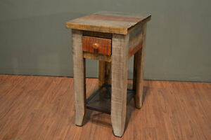 Crafters and Weavers Bayshore Loft Side Table