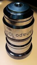 Carl Zeiss Planapo 100x 1.30 160/0.17 m.i oel (avec iris) microscope objective