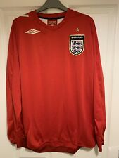 723e82600 2006 2007 England away football shirt Umbro XL men s extra large three  lions LS