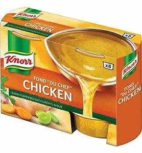 Knorr Fond Du Chef Stock, Chicken 8 tubs (SET OF ELEVEN = 88 tubs)