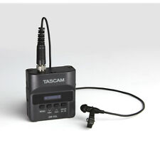 Tascam DR-10L Micro Linear PCM Recorder w/ Wired Lavalier Microphone (C-STOCK)