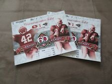 2 Unused 49ers Commemorative Tickets September 17, 2006