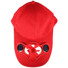 Solar Sun Power Hat Cap Cooling Cool Fan TG