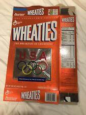 "Vintage 1996 COLLECTORS EDITION, ""USA OLYMPICS""  WHEATIES BOX, 18oz."
