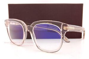 New Tom Ford Eyeglass Frames FT 5537-B/V 072 Clear For Men Women 52mm