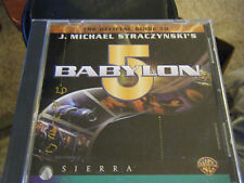 The Official Guide to J. Michael Straczynski's Babylon 5 (PC & MAC, 1997)