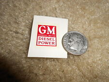 One (1) G.M. W.S. Decal For Lionel Postwar 397 Coal Loader Motor Cover + Glue