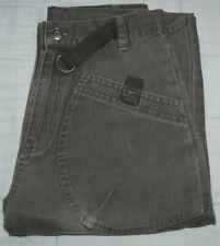 Boys Khaki Cherokee Jeans Age 10-11 straight leg, adjustable waist, Zip Fly