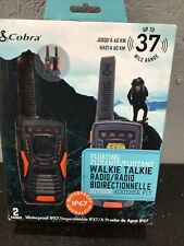 Cobra Acxt1035R Flt Two-Way Radio - 2 Radios - New