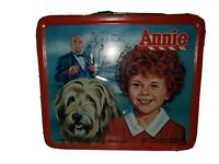 Vtg Aladdin Annie The Movie Metal Lunchbox No Thermos Used Tribune Company