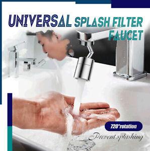 Wasserhahn Mit Spritzfilter Universal 720 ° Drehbar Wasserauslass Düsenspritze