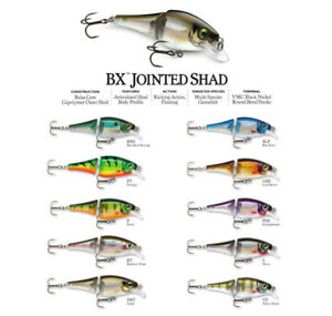 Rapala BX Jointed Shad // BXJSD06 // 6cm 7g Fishing Lures (Choice of Colors)