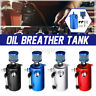 Car Racing Engine 0.5L Oil Breather Tank Catch Can Reservoir & Filter