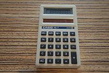 Casio HS 7 Taschenrechner .  Solar . Alt