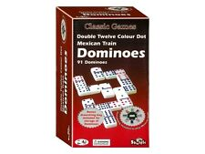 Dominoes D12 Mexican Train Double Twelve Shuffle BRAND NEW