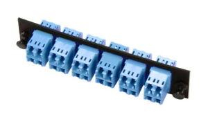 24 Port Fiber Optic Snap-In Adapter Pack, singlemode, LC, CommScope 1435516-1