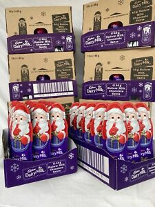 Cadbury Dairy Milk Chocolate Santa(large)30x45g You Get 2 Boxs Best before 03/21