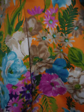 Beautiful Colors Tropical All Over Flowers Floral Light Stretch Fabric-BTYx44W