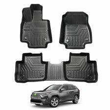Car Floor Mats For Toyota RAV4 2019 2020 TPO Mats Fit for Hybrid/Gas Model