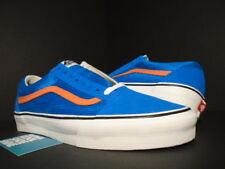 VANS OLD SKOOL '92 SUPREME MESH ROYAL BLUE WHITE ORANGE NY KNICKS VN-0K6N4X9 11