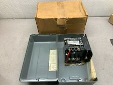 New In Box Square D Ac Magnetic Contactor With Enclosure 8502 Sbg 2