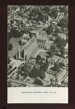 Hampshire Hants WINCHESTER Cathedral Aerial 1956 RP PPC