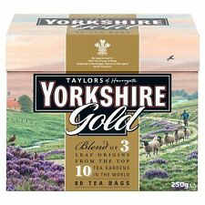 YORKSHIRE TEA GOLD...80 TEA BAGS (250G)..BY TAYLORS OF HARROWGATE