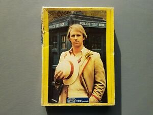 Doctor Who Fifth Doctor Jigsaw. Waddingtons 200 piece. 1982. Vintage Dr Who.