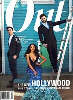 OUT MAGAZINE FEB/MARCH 2021--THE NEW HOLLYWOOD O'CONNELL, GREY AND BORELLI