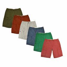 Levis Hombre Pantalones Cortos Casual Cargo Pantalones Plano Frente Cremallera Volar Nuevo Nuevo Con Etiquetas Original