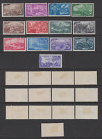 ITALY 1948 Risorgimento Mint *  Sc.495-506/E26 (Sa.580/591+E32)