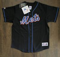 Johan Santana New York Mets Majestic Adult Jersey. Stitched! Large. New Free SH