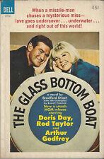 Movie tie-in paperback DORIS DAY The Glass Bottom Boat Rod Taylor DELL #2920