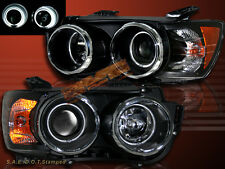 2012-2014 CHEVROLET SONIC CCFL HALO PROJECTOR BLK HEADLIGHTS AMBER 4D/HATCHBACK