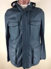 LORO PIANA $5395. Soft Lambskin Leather TravellerJacket--New with Tags