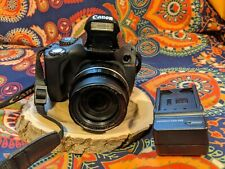 Canon PowerShot SX40 HS 12.1MP Digital Camera - Black GREAT Condition!!