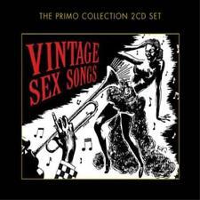 Vintage Sex Songs - Various (NEW 2 x CD)