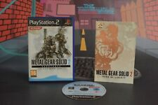 METAL GEAR SOLID 2 SUBSTANCE PLAYSTATION 2 PS2 ENVÍO 24/48H COMBINED SHIPPING
