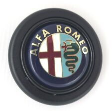 ALFA Romeo Volante Corno a pulsante. SI ADATTA MOMO Sparco OMP Nardi RAID ecc.