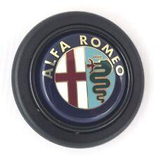 Alfa Romeo steering wheel horn push button. Fits Momo Sparco OMP Nardi Raid etc