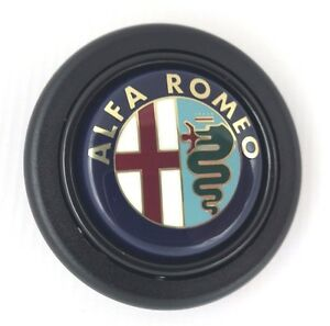 Alfa Romeo Lenkrad Hupe Druck Knopf Für Momo Sparco OMP Nardi Raid Usw.